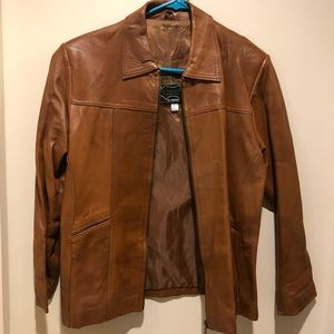 Egyptian leather jacket Women's L